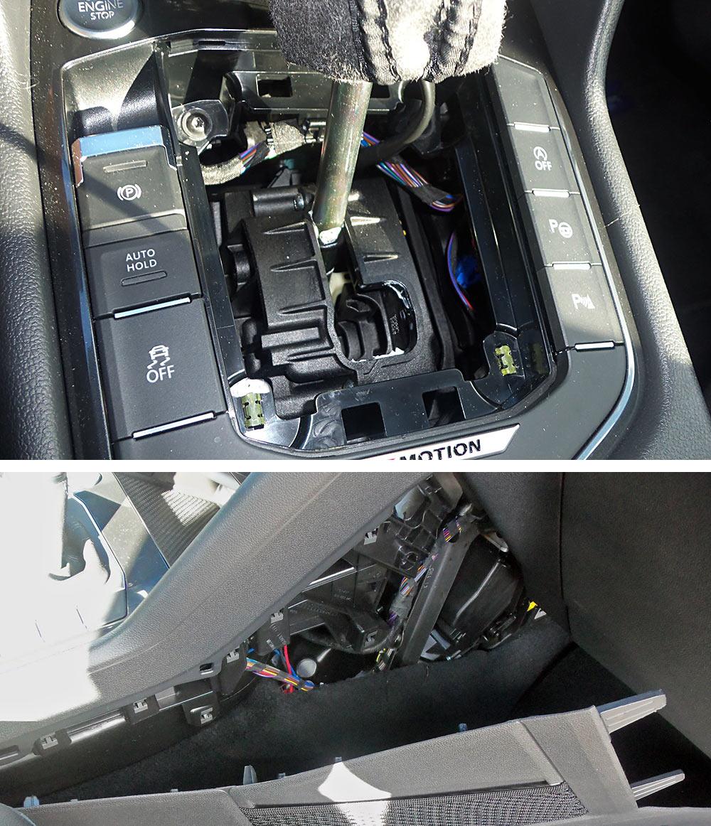 Schaltung Auto Starten